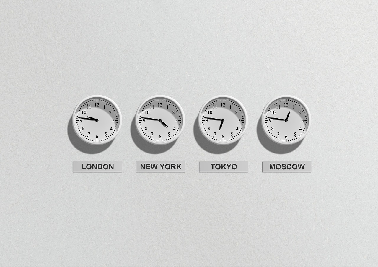 Clocks from around the world